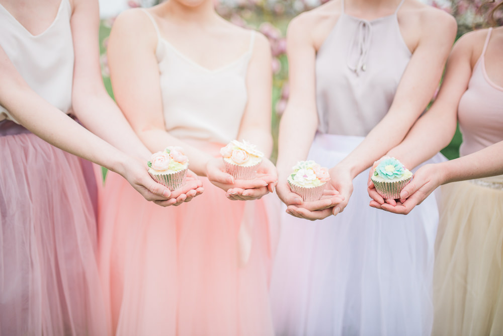 Cupcakes Springtime Bridal Shower Ideas Hen Party Laura Jane Photography