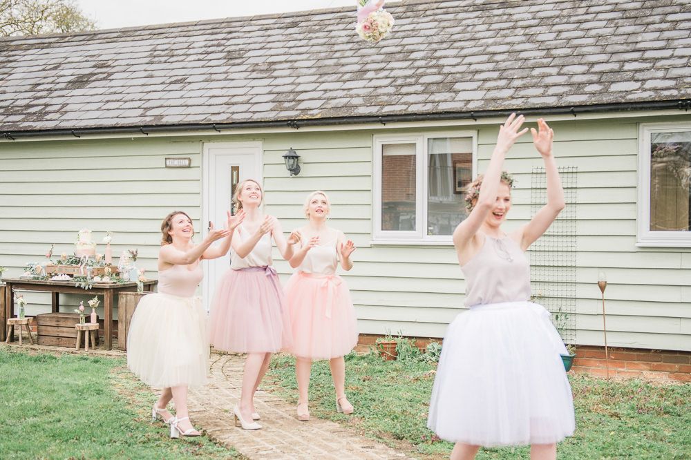 Bouquet Toss Throw Springtime Bridal Shower Ideas Hen Party Laura Jane Photography