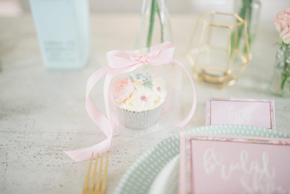 Cupcake Favour Springtime Bridal Shower Ideas Hen Party Laura Jane Photography