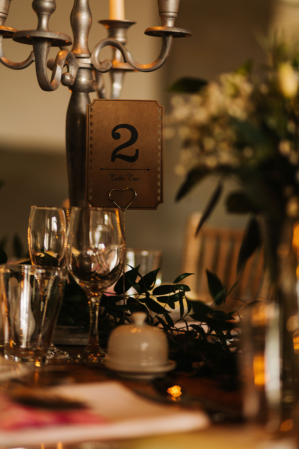 Ticket Table Numbers The Arches Halifax Wedding Paul Joseph Photography