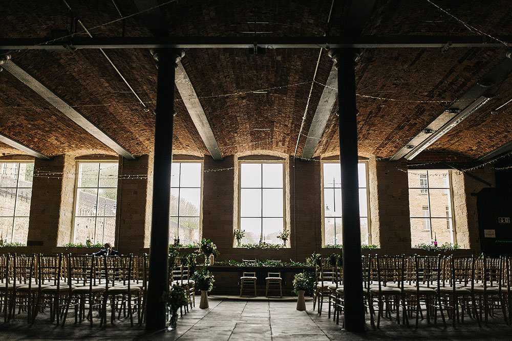 Industrial Ceremony The Arches Halifax Wedding Paul Joseph Photography