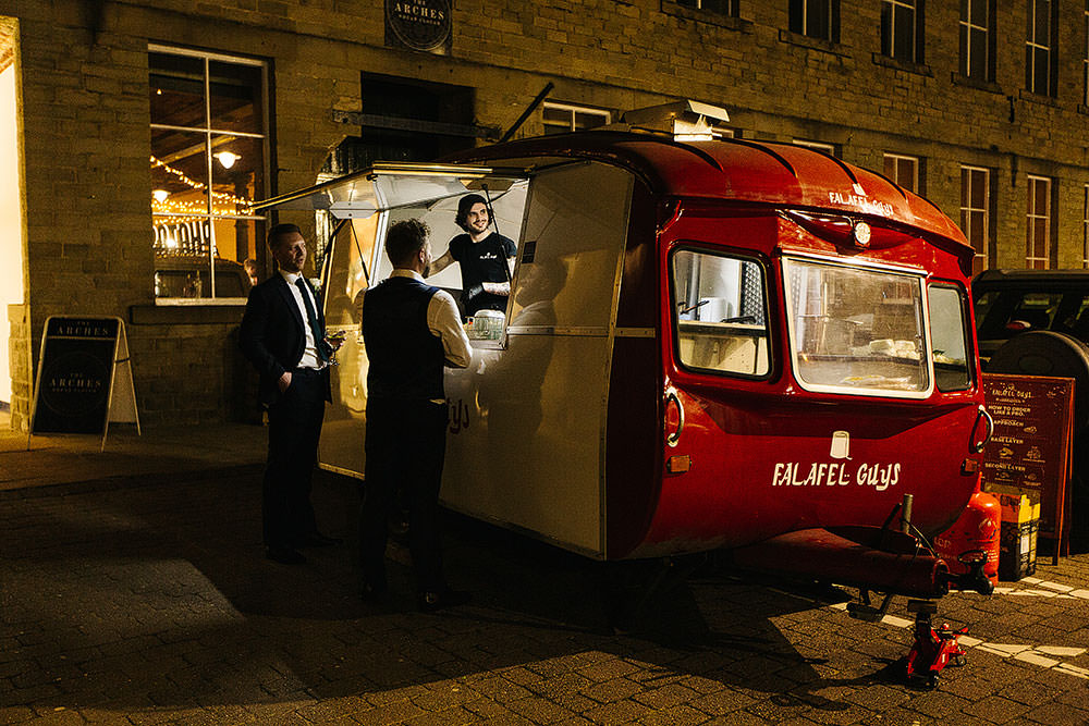 Food Truck Van The Arches Halifax Wedding Paul Joseph Photography