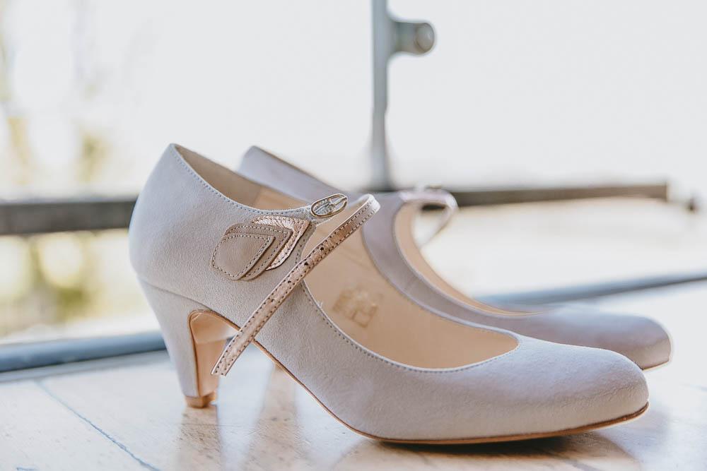 Rachel Simpson Shoes Trevenna Barns Wedding Wild Tide Creative