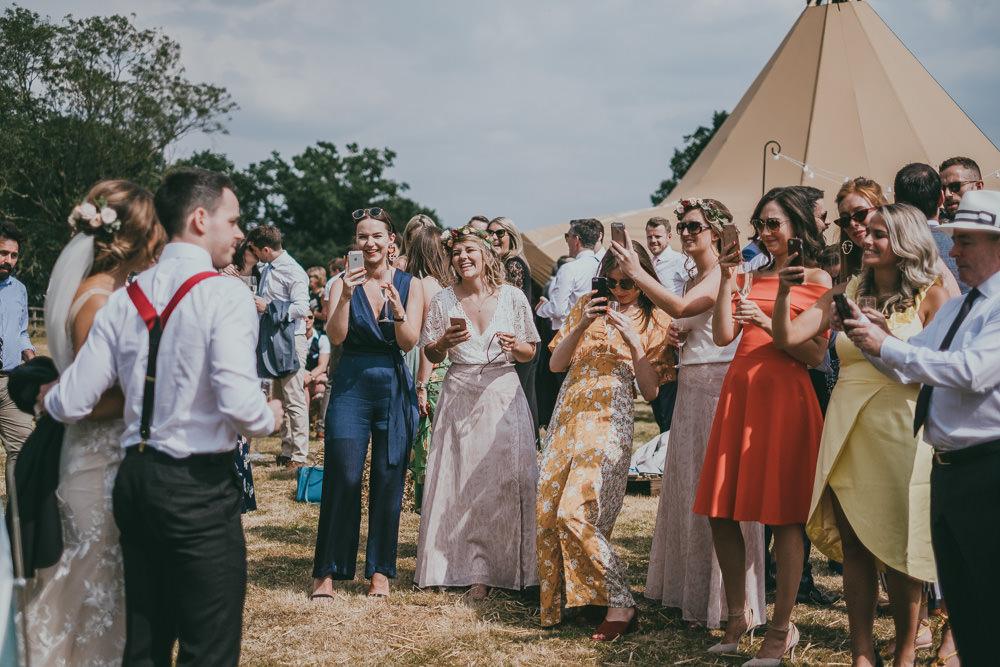 Boho Tipi Wedding Ross Talling Photography