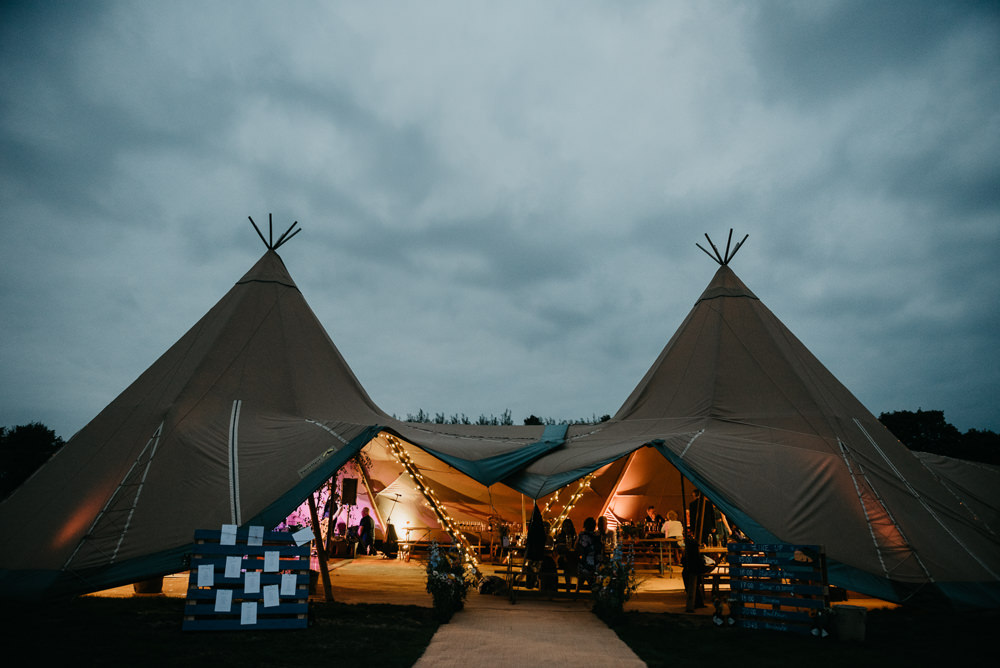 Tipi Church Farm Wedding Andrew Brannan Photography