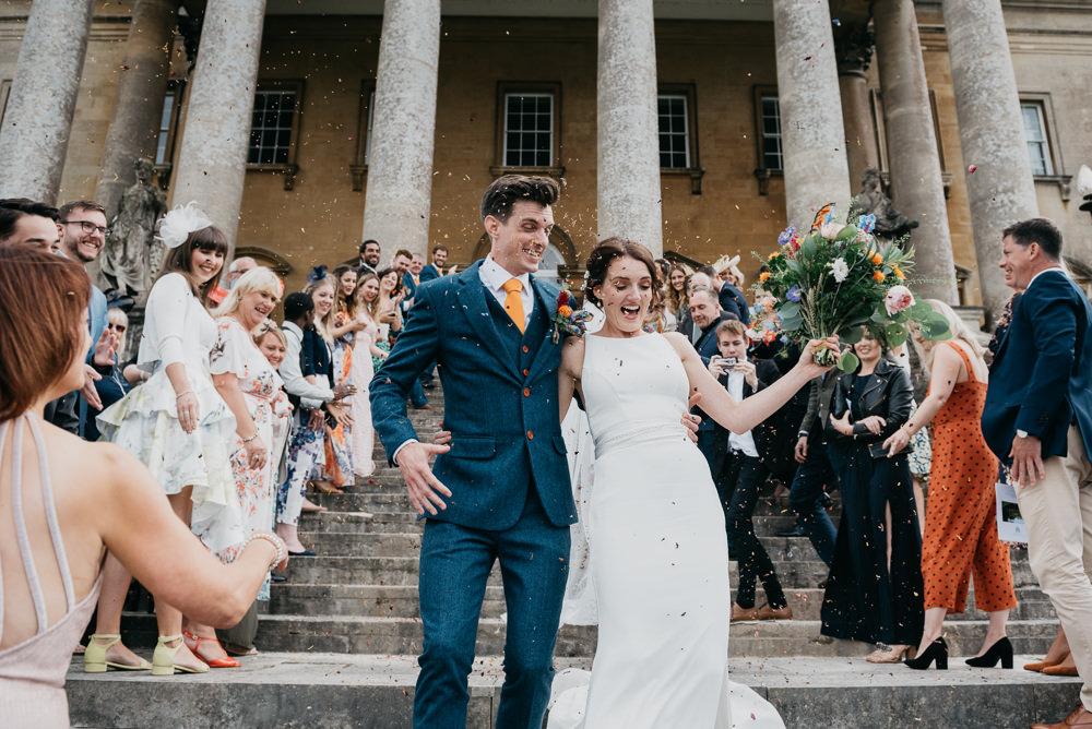 Confetti Church Farm Wedding Andrew Brannan Photography