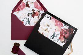 DIY Envelope Liners Wedding Tutorial