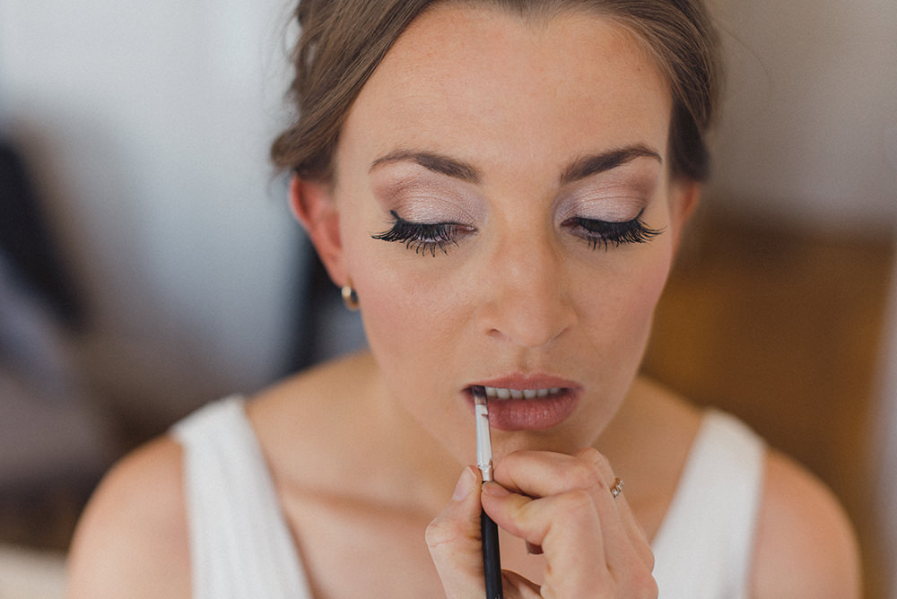 Bride Bridal Make Up East Quay Whitstable Wedding Rebecca Douglas Photography
