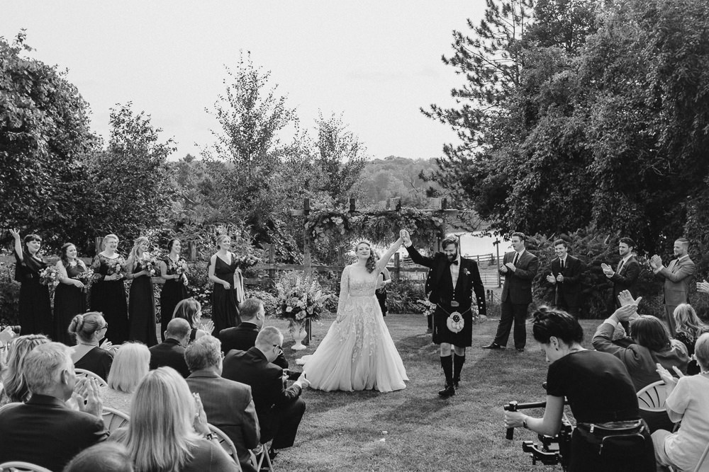 Outdoor Ceremony Fantasy Nerdy Wedding Eric Lundgren Photography
