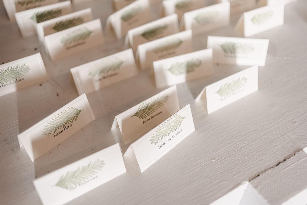 Escort Cards Fantasy Nerdy Wedding Eric Lundgren Photography