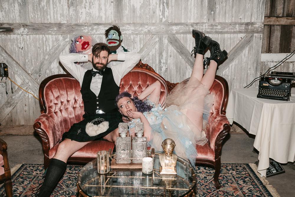 Fantasy Nerdy Wedding Eric Lundgren Photography