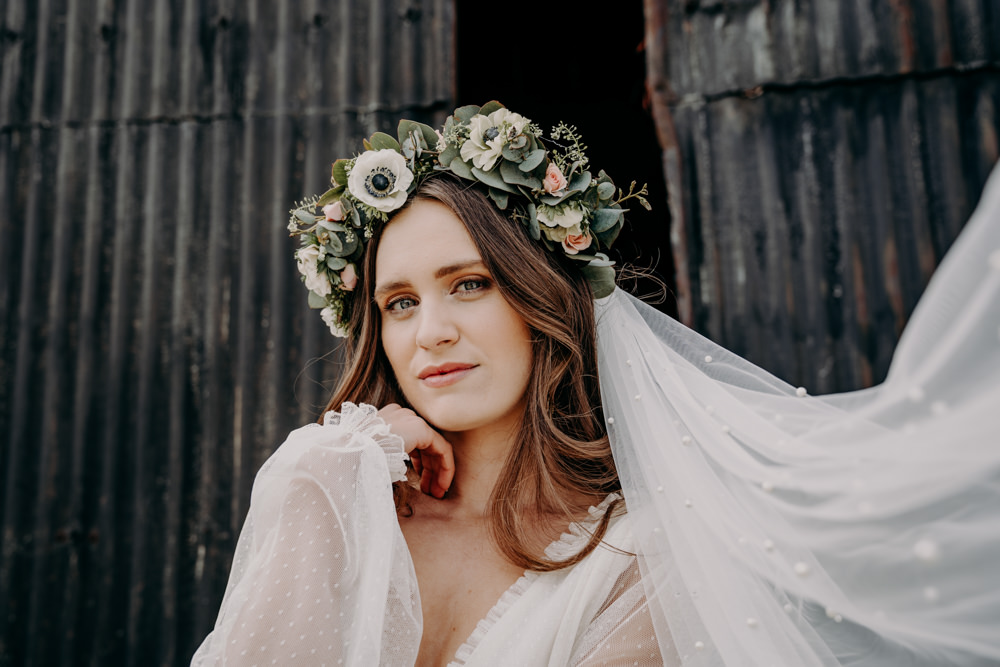 Bride Bridal Make Up Free Spirited Wedding Ideas EKR Pictures