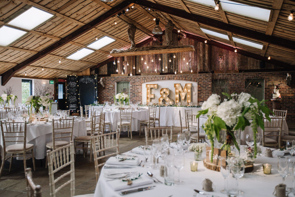 Venue Reception Decor Decoration Rustic Owen House Wedding Barn Nessworthy Photography