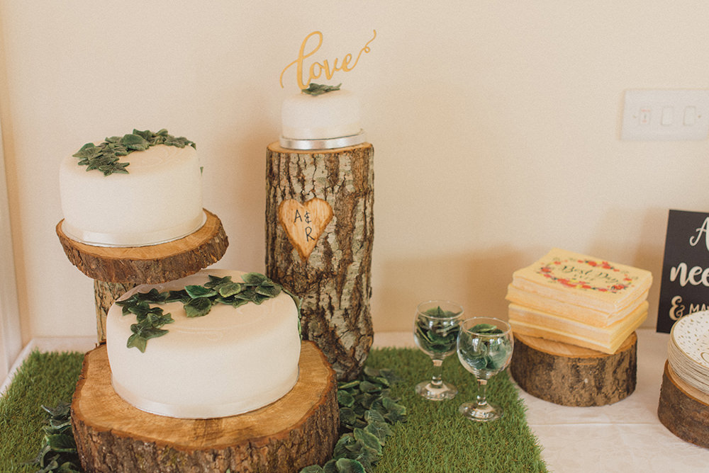 Cake Dessert Table Rye Wedding Rebecca Douglas Photography