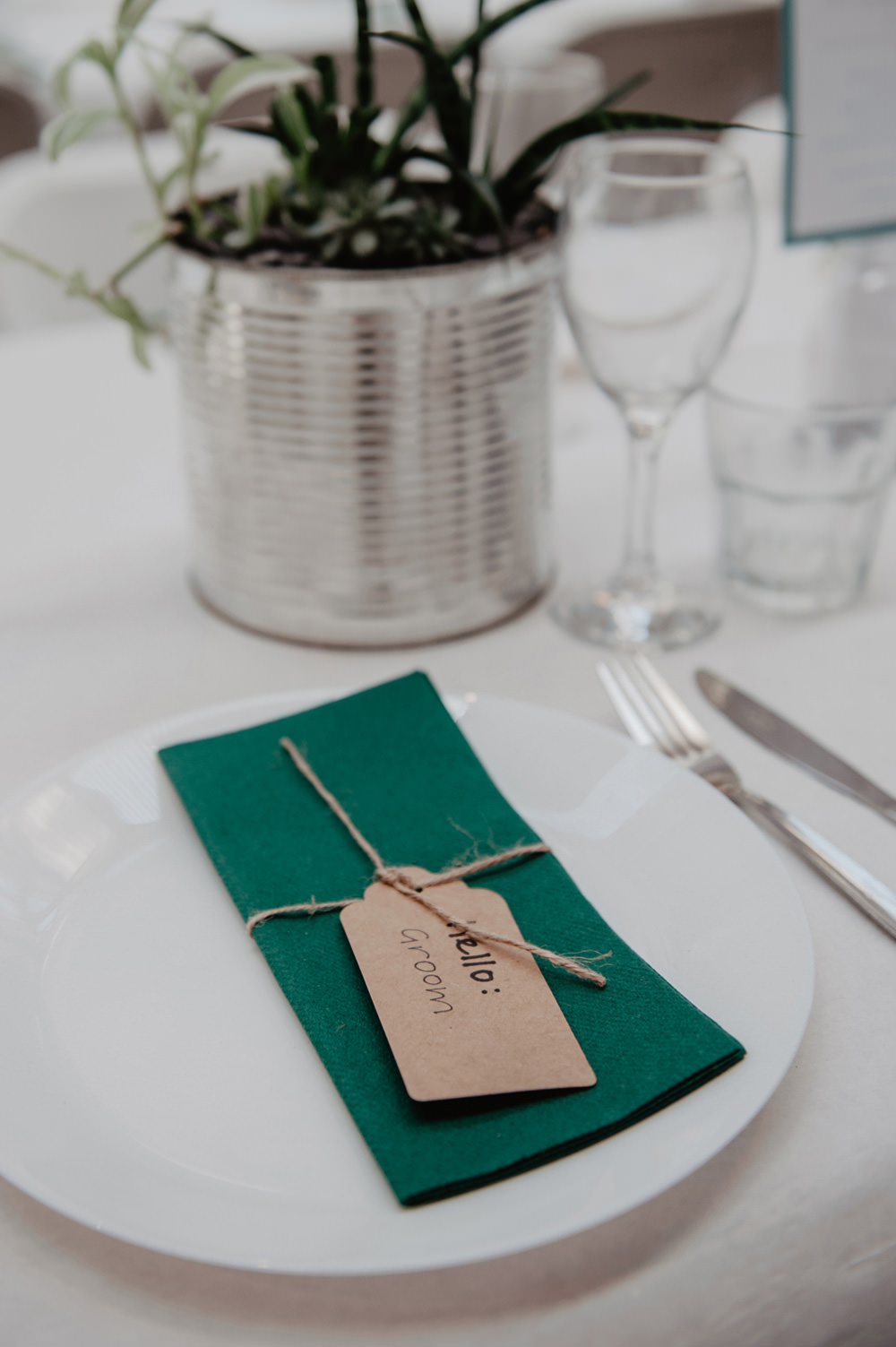 Luggage Tag Place Name Stour Space Wedding Anne Schwarz Photography