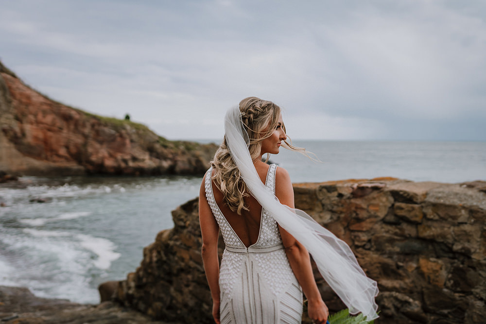 Tropical Luxe Wedding Burfly Photography