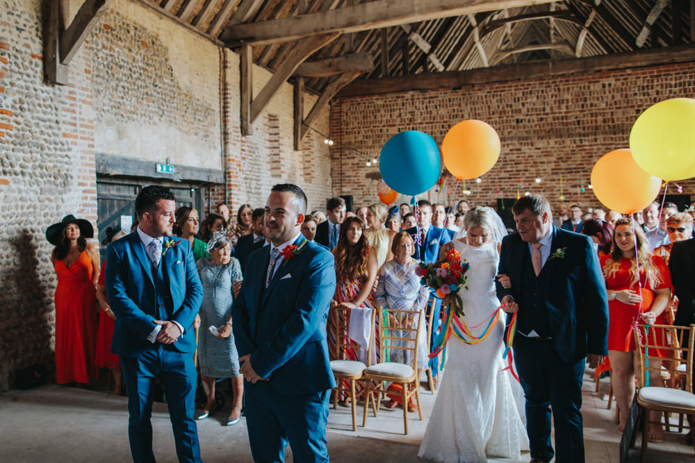 Waxham Great Barn Wedding Joshua Patrick Photography