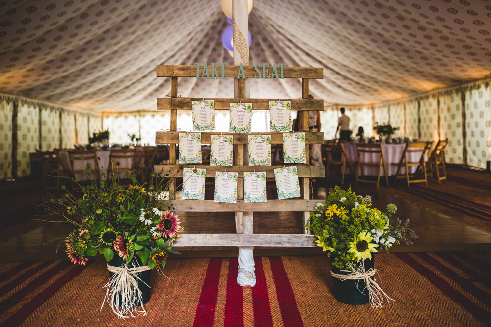 Pallet Table Plan Seating Chart Wildflowers Wise Wedding Venue Livvy Hukins Photography