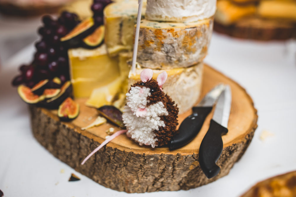 Pom Pom Mouse Cheese Wise Wedding Venue Livvy Hukins Photography
