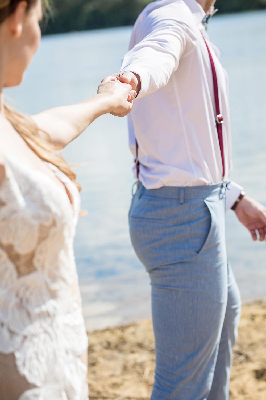 Boho Beach Wedding Ideas Sarah Hoyle Photography