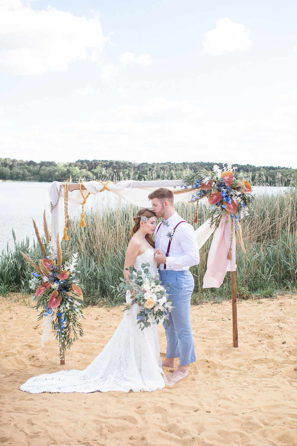 Ethereal & Edgy Boho Beach Wedding Ideas