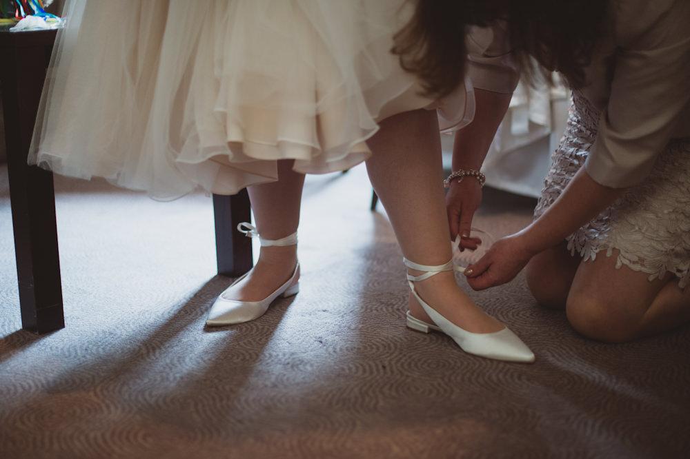 Bride Bridal Shoes Buckinghamshire Railway Centre Wedding Sasha Weddings