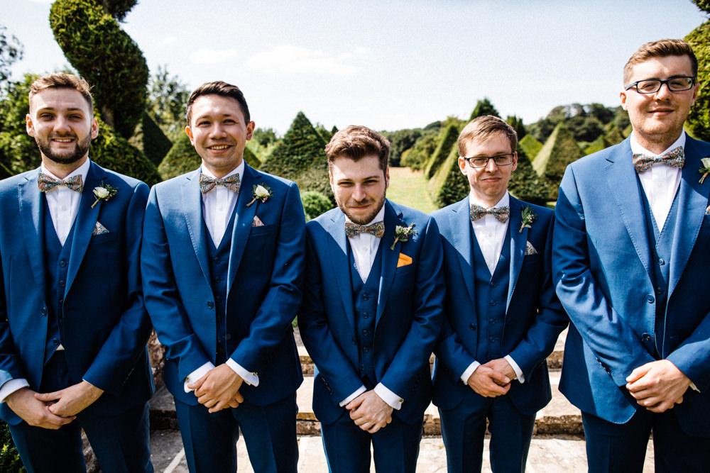 Three Piece Suit Waistcoat Groom Mrs Bow Tie Chaucer Barn Wedding Through The Woods We Ran