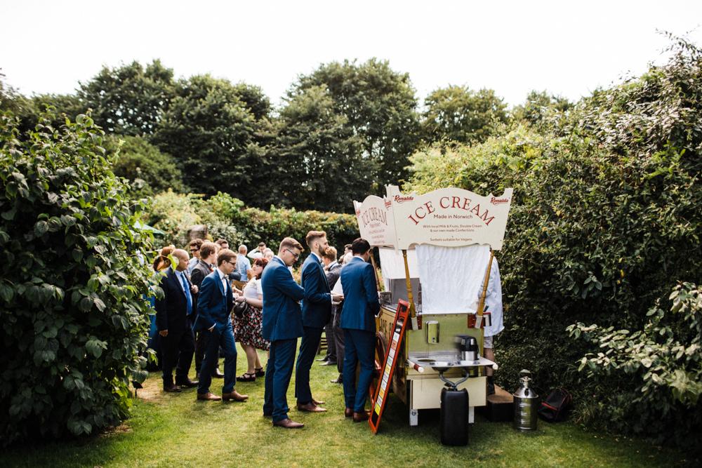 Chaucer Barn Wedding Through The Woods We Ran
