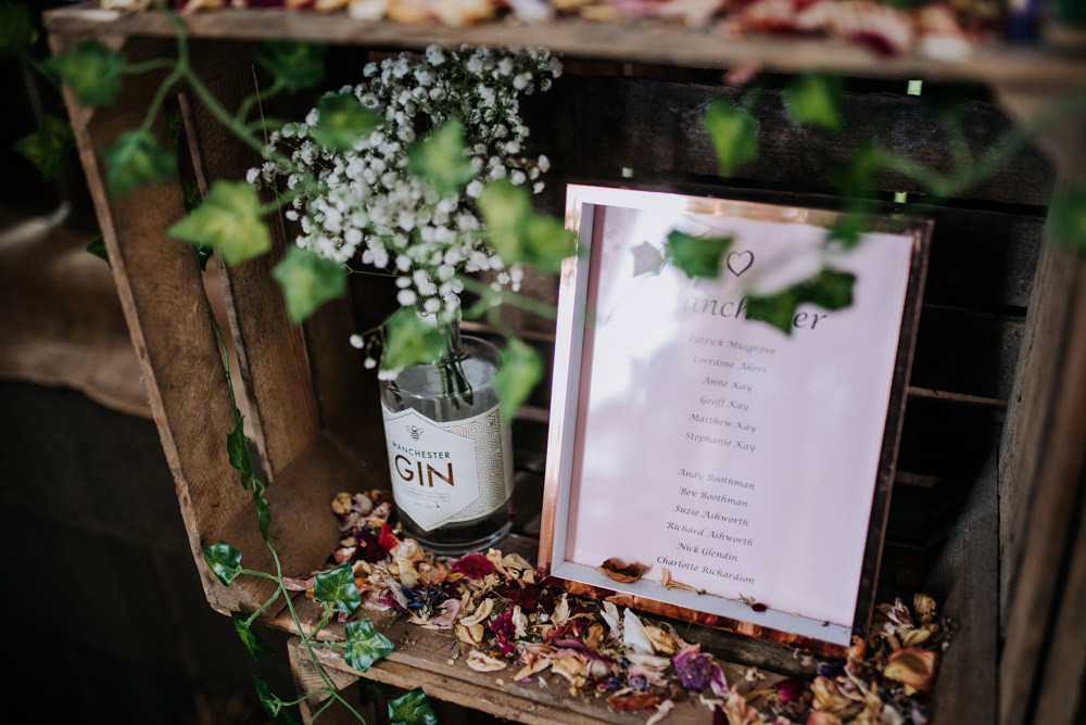 Wooden Crates Seating Plan Table Chart Deepdale Farm Wedding Kazooieloki Photography