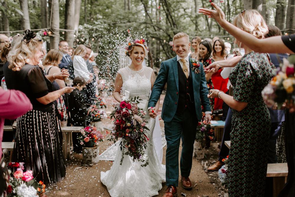 Confetti Dreys Wedding Grace & Mitch Photo & Film