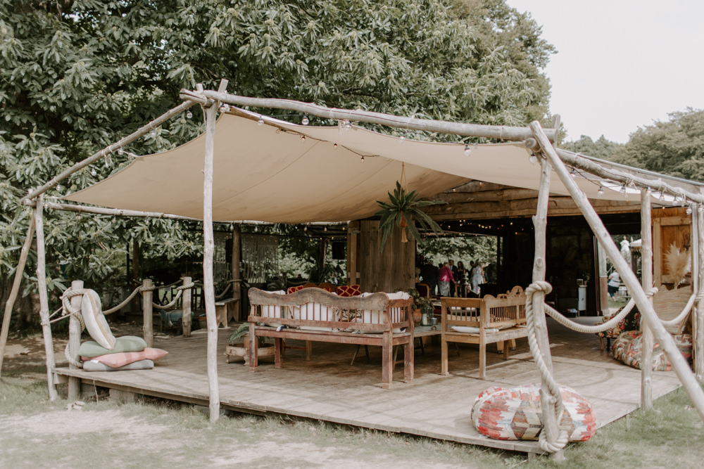Pole Tent Seating Area Dreys Wedding Grace & Mitch Photo & Film