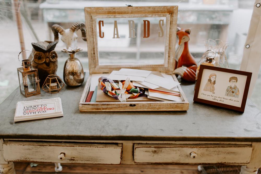 Card Table Decor Dreys Wedding Grace & Mitch Photo & Film