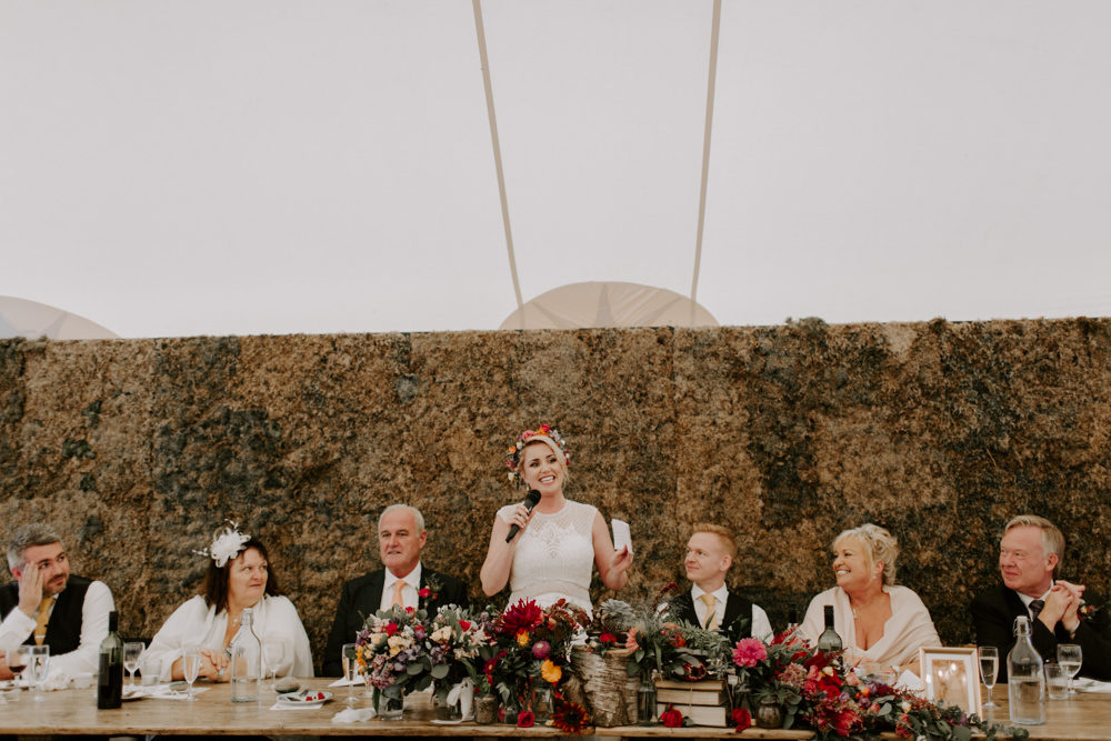 Moss Wall Backdrop Top Table Dreys Wedding Grace & Mitch Photo & Film