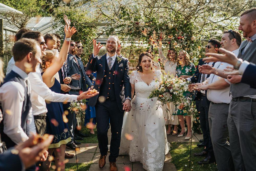 Confetti Greenhouse Wedding Kit Myers Photography