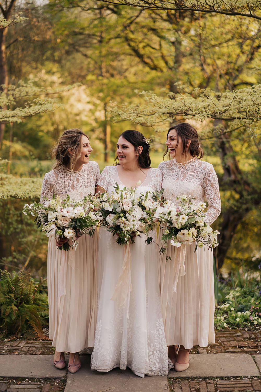 Bridesmaids Bridesmaid Dress Dresses Lace White Greenhouse Wedding Kit Myers Photography