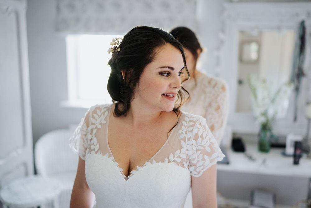 Bride Bridal Hair Make Up Greenhouse Wedding Kit Myers Photography