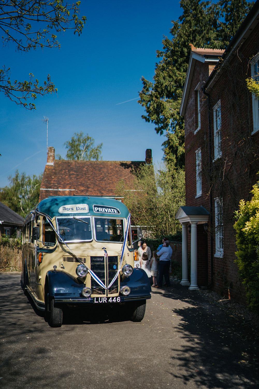Vintage Bus Transport Greenhouse Wedding Kit Myers Photography