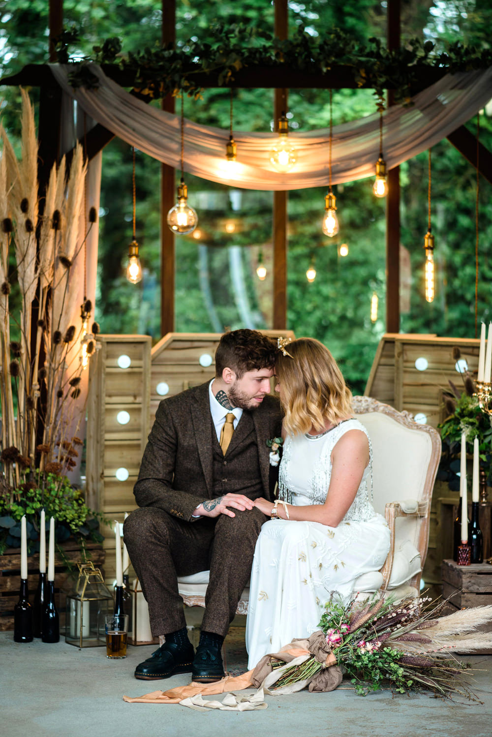 Indie Wedding Ideas Kat Antos-Lewis Photography