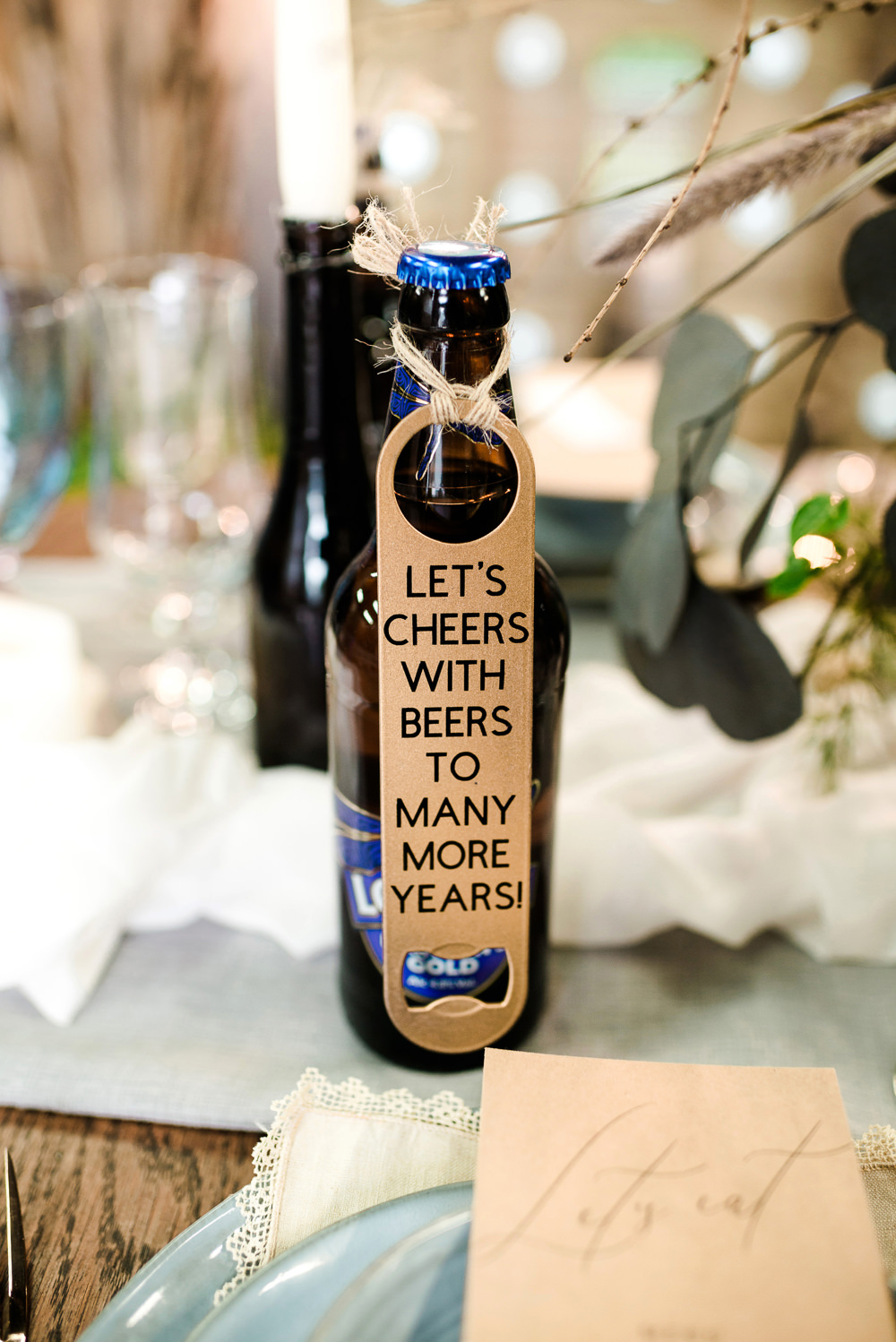 Beer Favours Indie Wedding Ideas Kat Antos-Lewis Photography