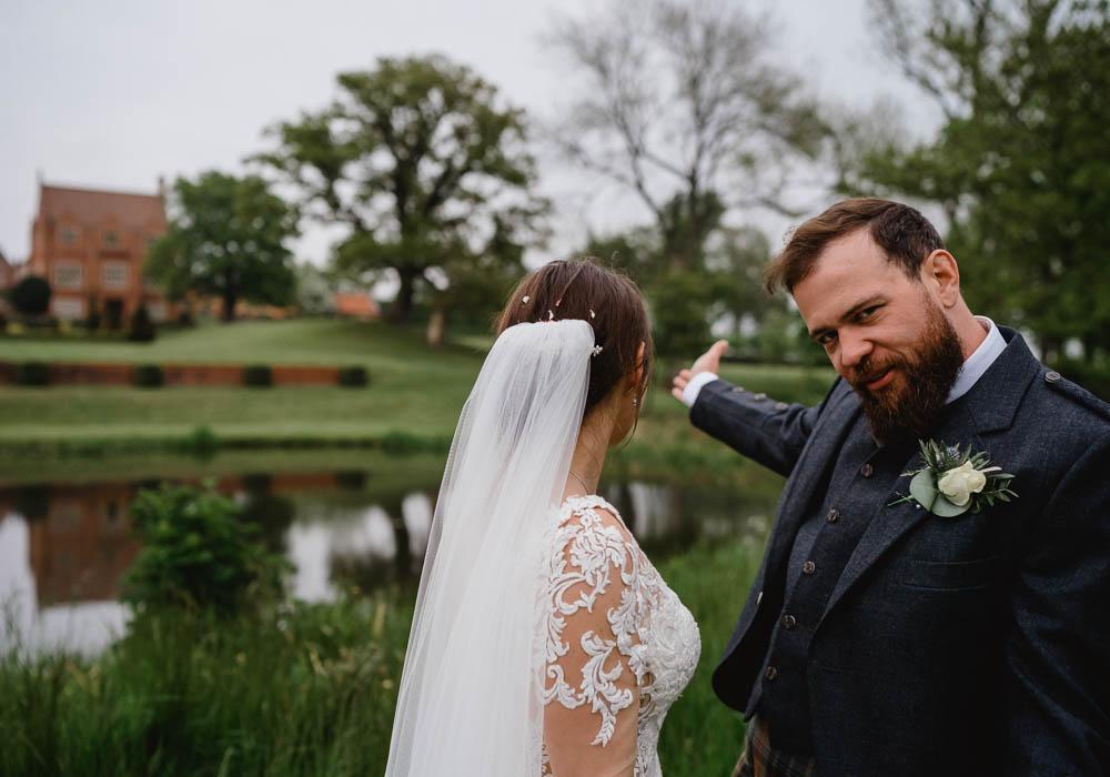 Veil Bride Bridal Hair Oxnead Hall Wedding Luis Holden Photography