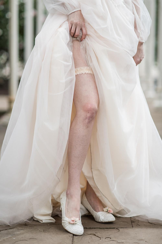 Bride Bridal Garter Shoes Peach Gold Wedding Ideas Jane Beadnell Photography