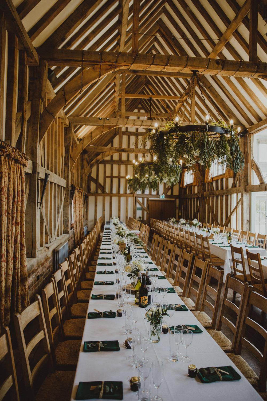 Greenery Foliage Wheel Hoop Hanging Rustic Country Barn Wedding Photography34