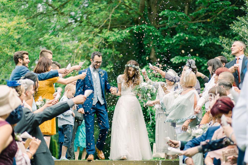Confetti Saltmarshe Hall Wedding Jessica Davies Photography