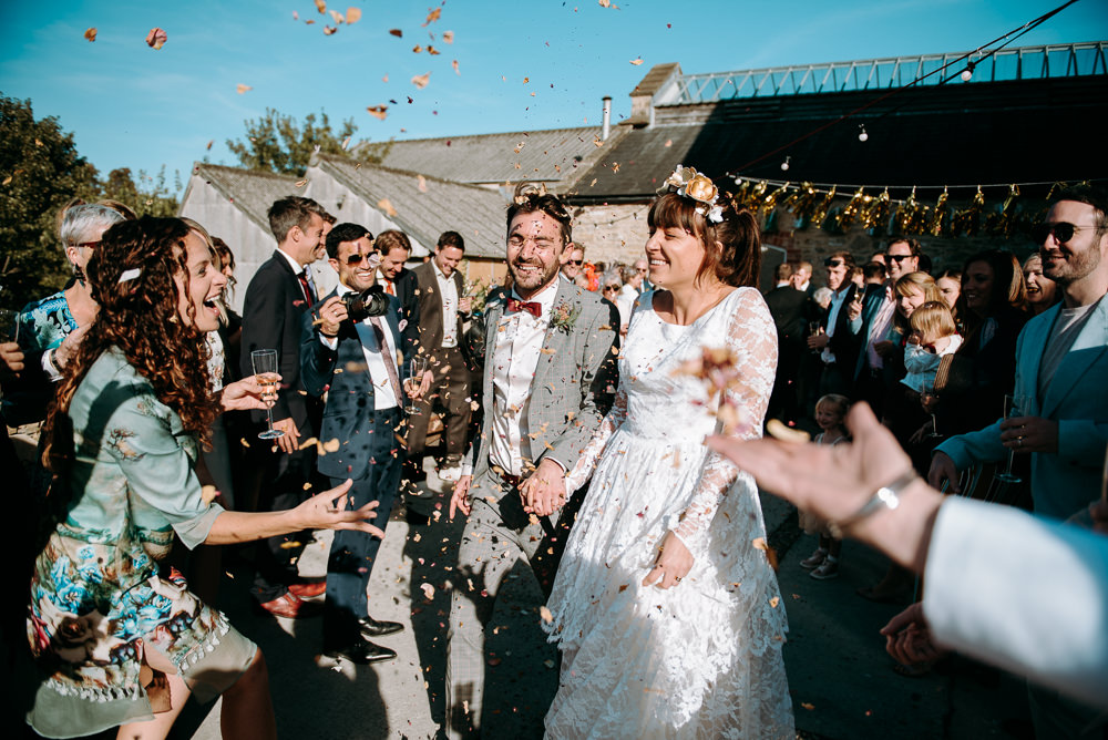 Confetti Silk Mill Wedding Andrew Brannan Photography