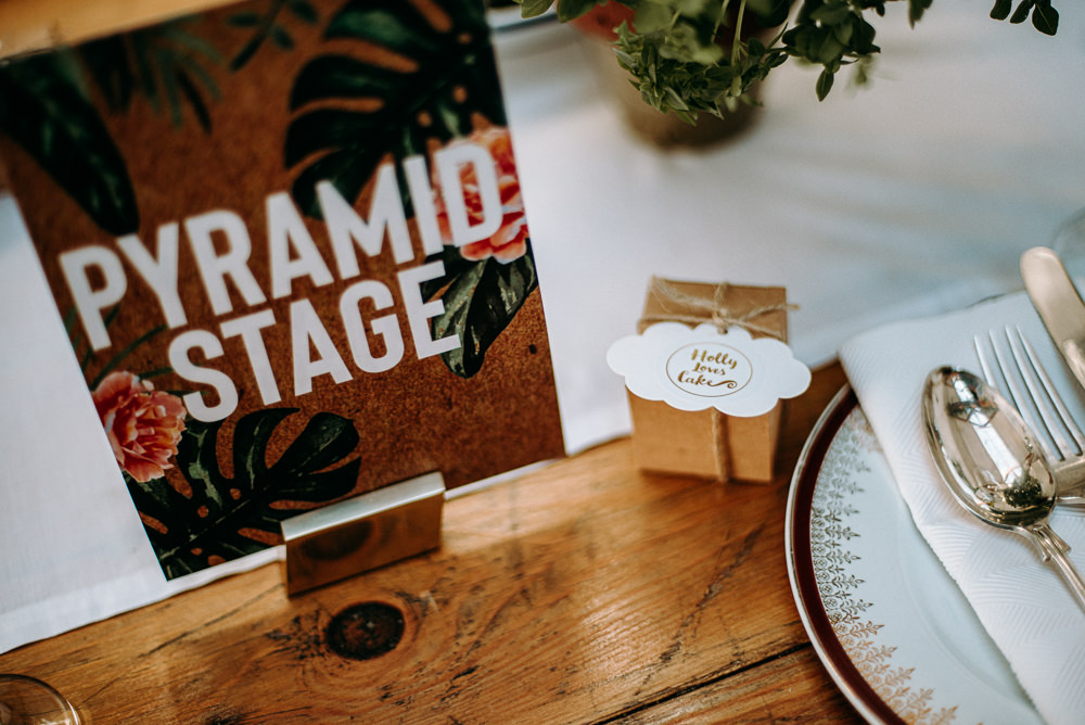Favour Box Silk Mill Wedding Andrew Brannan Photography