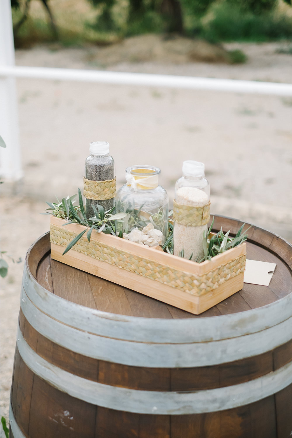 Sand Pouring Ceremony Spain Destination Wedding Jesus Caballero Photography