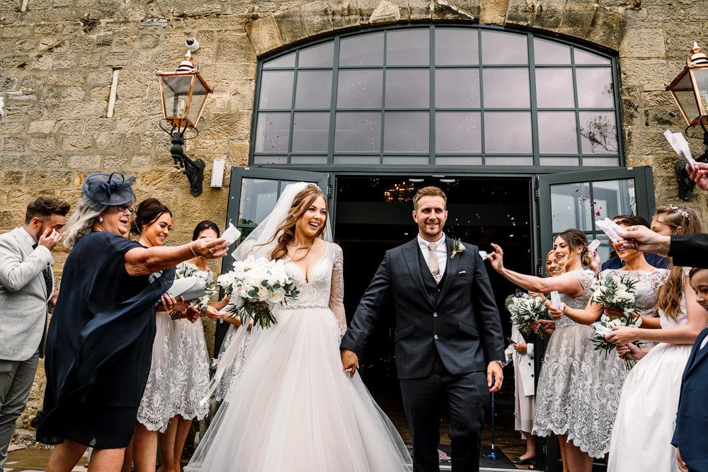 Confetti Wharfedale Grange Wedding Hayley Baxter Photography