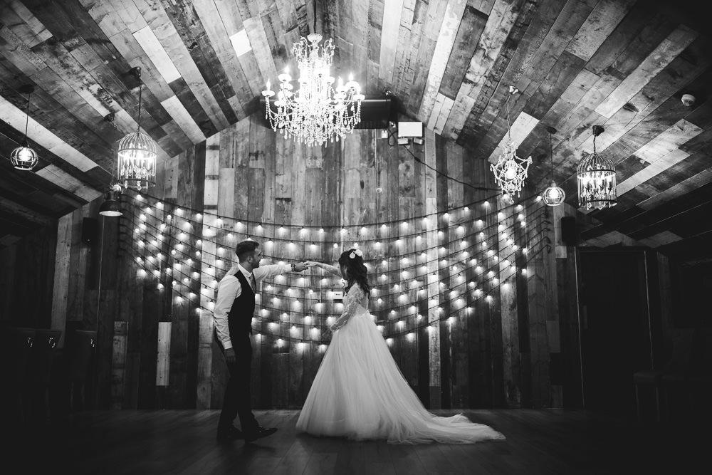 Festoon Lights Lighting Wharfedale Grange Wedding Hayley Baxter Photography