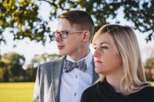 Blue Eyes Bow Ties Groom's Style Wedding Directory UK Suppliers