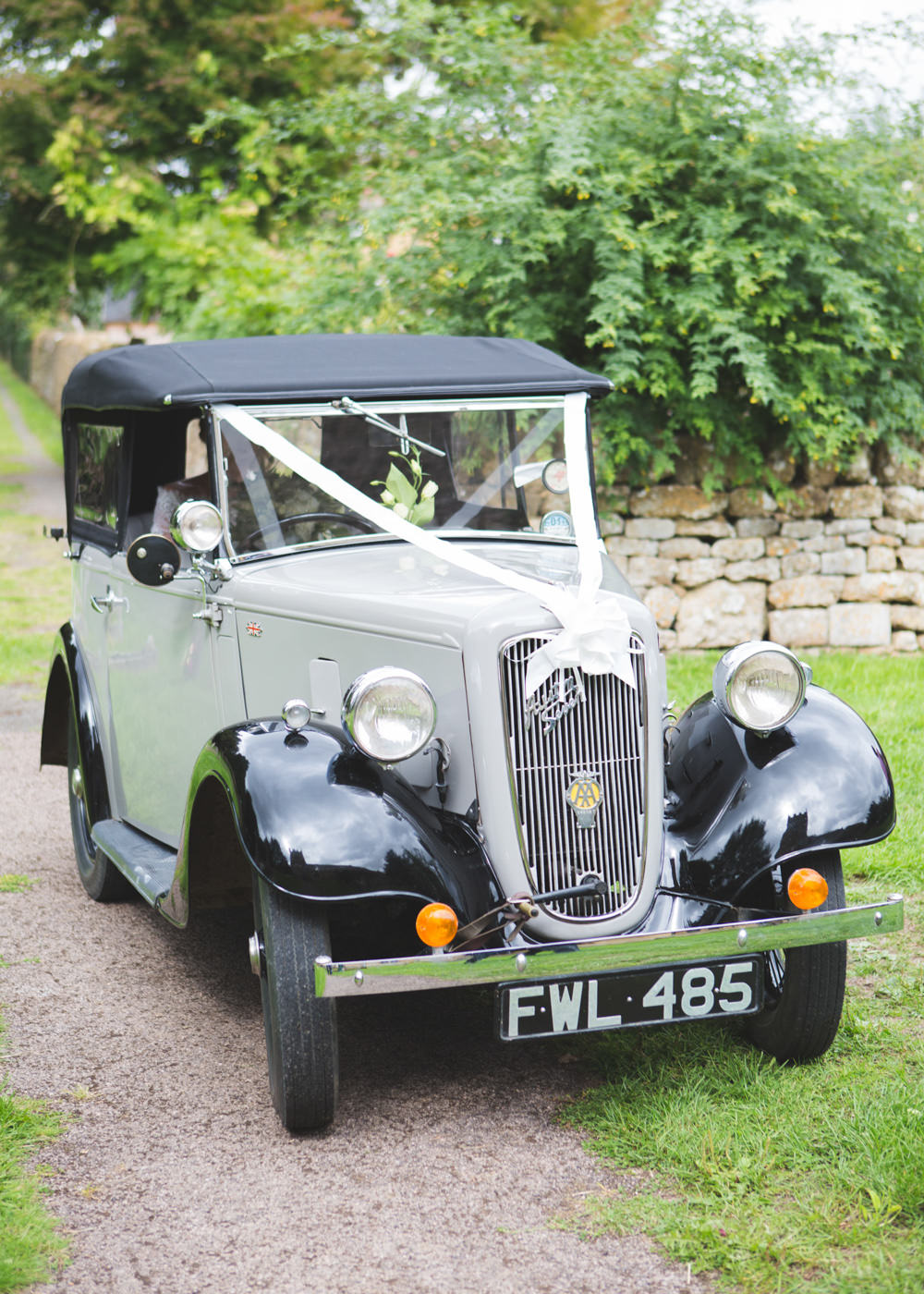 Vintage Car Transport Classic Airbnb Wedding Pickavance Weddings